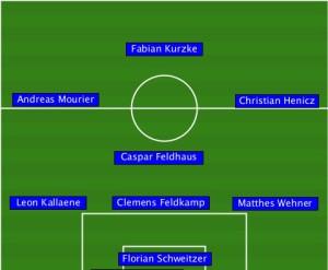 2015.11.27 LA Galaxy - 1. FC PV Nord 6-1 (4-1)