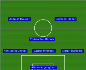 2016.04.16 Möwe Kicker - 1.FC PV Nord 0-6 (0-2)