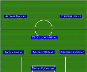 2016.05.28 Gemeinde Friedrichshagen 2 - 1. FC PV Nord 3-3 (1-2)